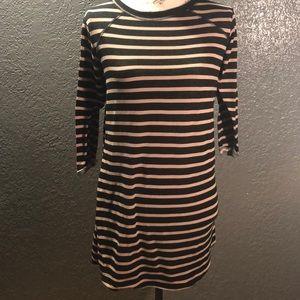 🍁Lightweight Sm 3/4 Length Sleeve Sweater Dress